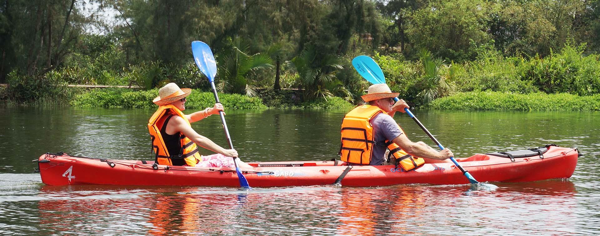 Vinhomes Grand Park - Cheo Thuyen Kayak