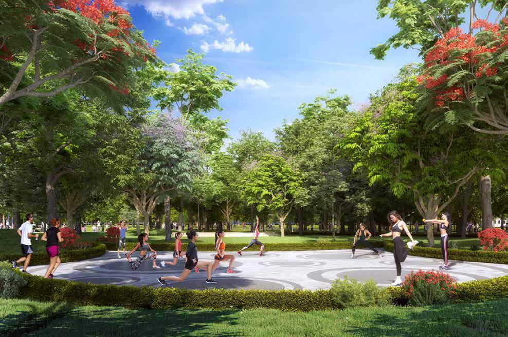 Vinhomes Grand Park - Cong Vien Erobic