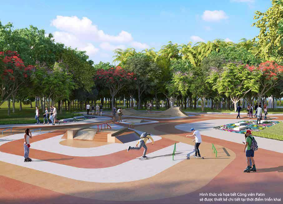 Vinhomes Grand Park - Cong Vien Patin