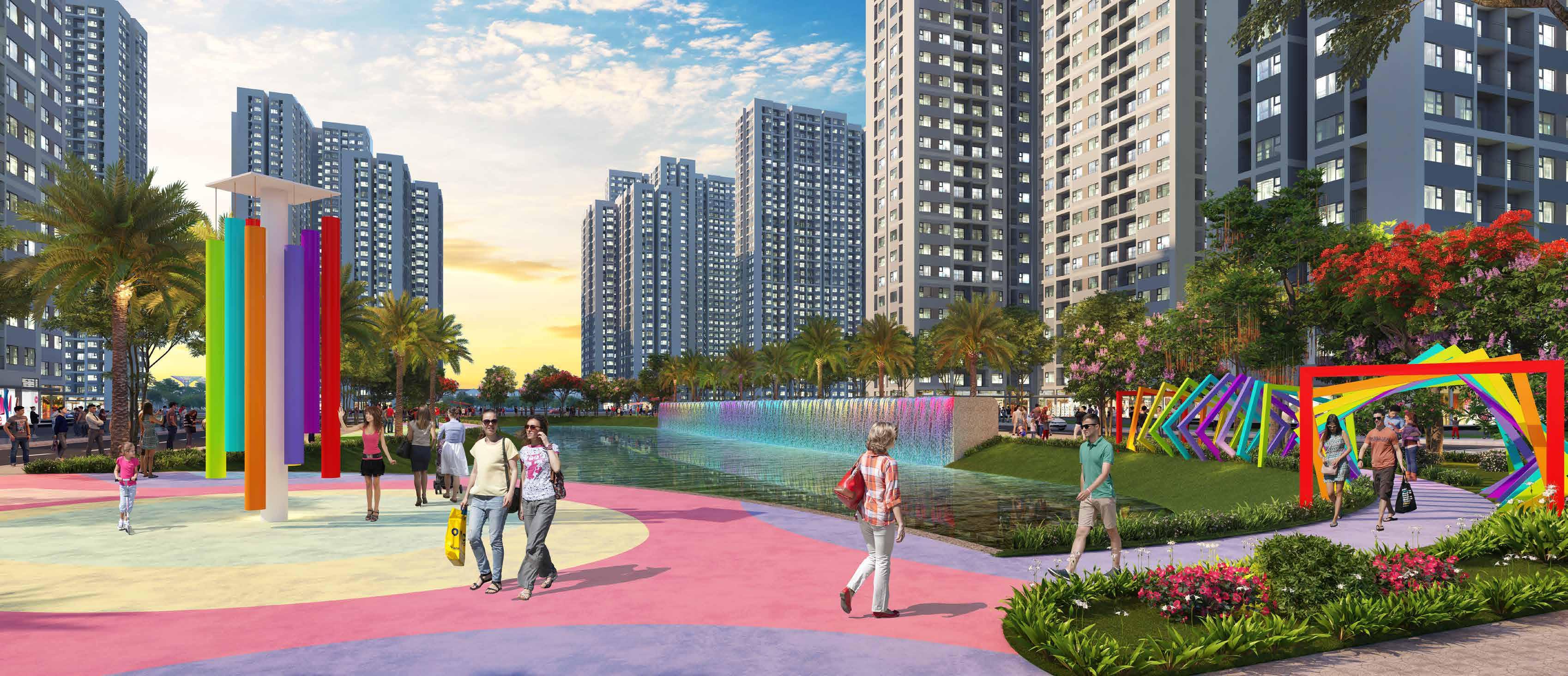 Vinhomes Grand Park Mang Lai Cuoc Song Van Minh Phon Hoa