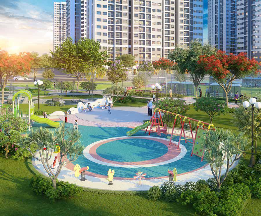 Vinhomes Grand Park - San Choi Tre Em