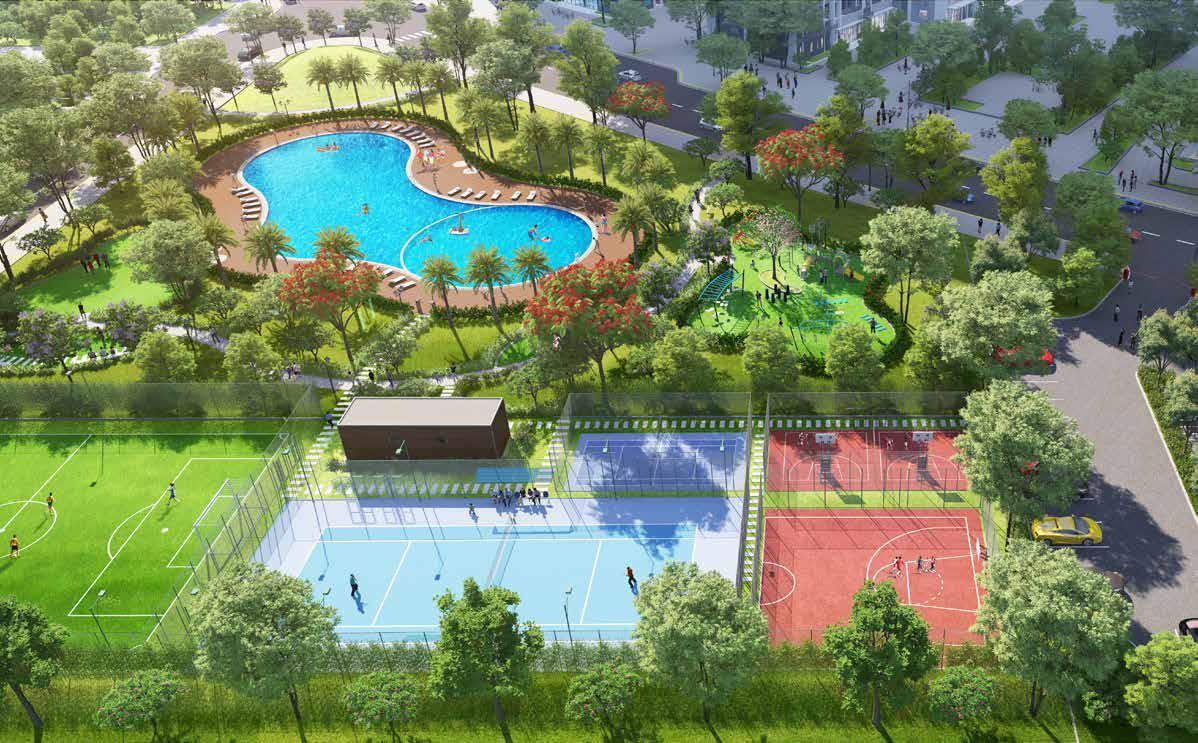 Vinhomes Grand Park Tien Ich Hoan Hao - Nhieu San The Thao